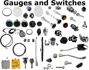190 Gauges and Switches