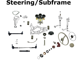 190 Steering and Subframe